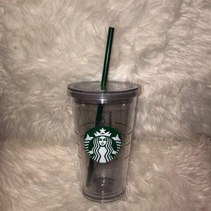 ✨NEW Starbucks Clear Tumbler Cup 16 oz✨